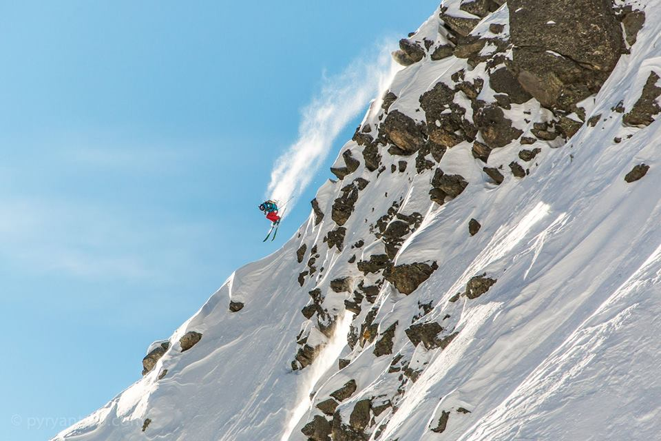 Wille Lindberg Swatch Freeride World Tour by The North Face 2014 (FWT14), France, Pyry Pietiläinen